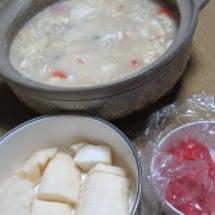 朝ごはん☆鍋あと雑炊