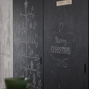 ★ダイソー黒板塗料で和室ふすまをDIY!