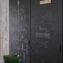 ★ダイソー黒板塗料で…