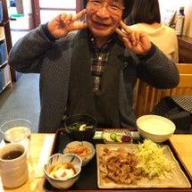 お昼は生姜焼き定食