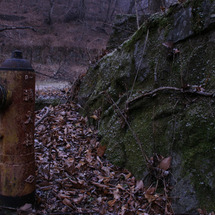 悪天候と消火栓