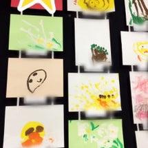 幼稚園で書いた絵