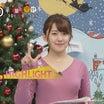 【ZIPの皆さん】尾崎里沙のハト胸ムチムチボディと熊谷江里子のBOOMERSニット乳