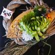 ★菊の扇〆縄飾り☆