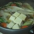 湯豆腐・〆2種