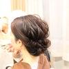 結婚式出張ヘアメイク/花嫁ヘアメイクリハーサルの画像