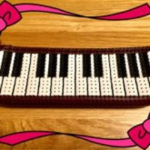 鍵盤のペンケース