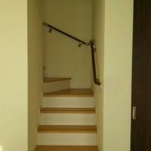 リビング階段からの冷…