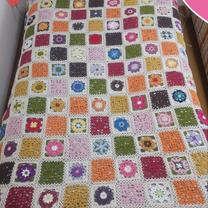 季節のお花モチーフのベッドカバー、完成!の記事に添付されている画像