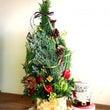 クリスマス生花ツリー…