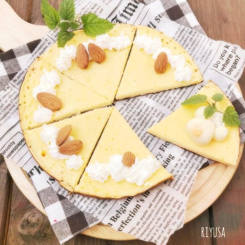 完成まで20分❤️フライパンで作れる❤️濃厚チーズケーキ