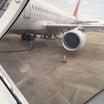 拷問飛行機で仁川に到着しましたー!笑