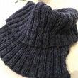 手編みのスヌード
