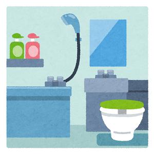 お風呂掃除、キズ
