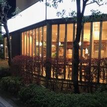 平日仕事帰りのカフェ…