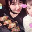 まりりんと肉寿司〜❤…