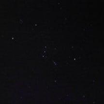 流れ星がすごい(;・…