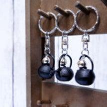 鉄瓶のキーホルダー