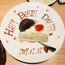 誕生日(*'∀'人)…
