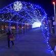 多賀城駅前 光の歩道