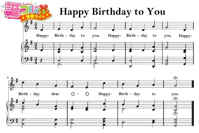 ハッピ バースデー トゥーユー ♪Happy Birthday to You/ハッピー