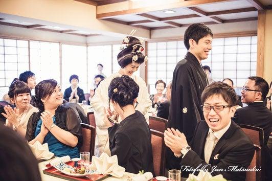 つきじ治作 ウエディングフォト 披露宴入場2 ブライダルフォト 結婚写真