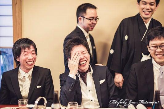 つきじ治作 ウエディングフォト 披露宴再入場スナップ ブライダルフォト 結婚写真