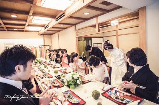 つきじ治作 ウエディングフォト 披露宴入場 ブライダルフォト 結婚写真