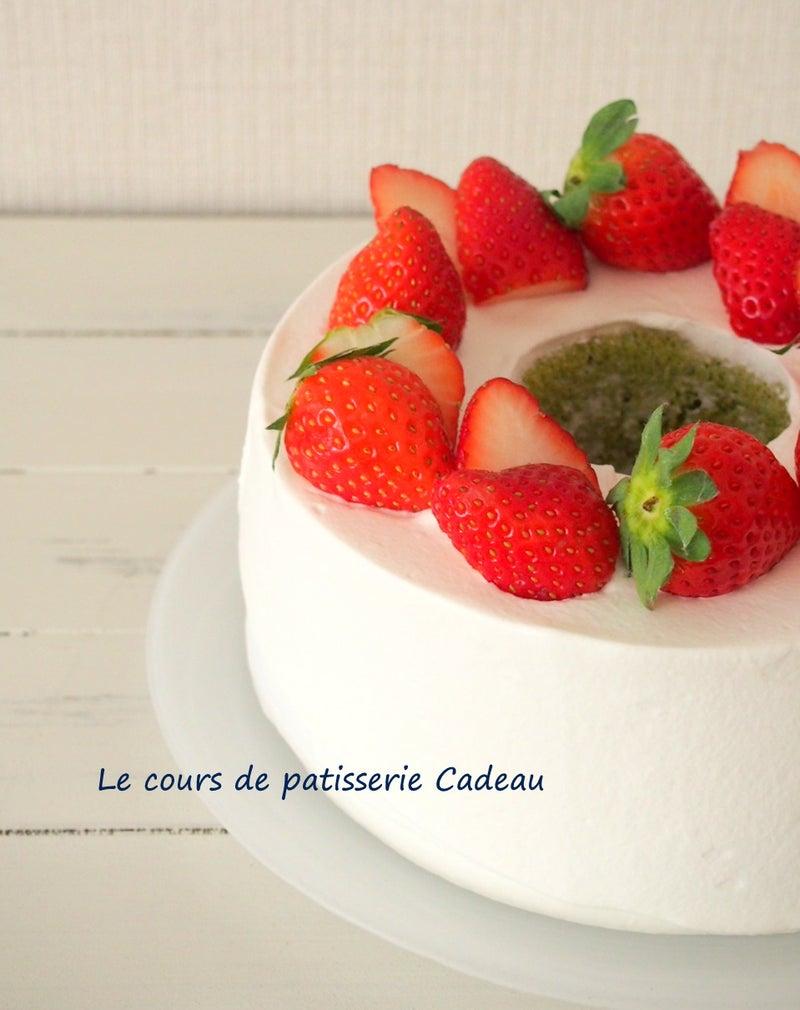 デコレーション シフォン ケーキ