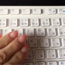 パソコン作業とネイル