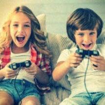 子供にゲームを与える…