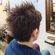 『髪型に1つポイント…