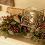 #クリスマスの花飾り