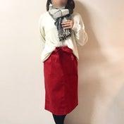 【ユニクロ】新作スカートでXmasコーデ♡/ぽっちゃり女子会報告!
