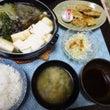 ●湯豆腐 ・蓮根の豚…
