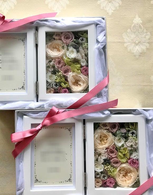 結婚式,両親贈呈,花束