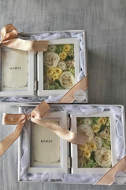 結婚式,両親贈呈品,プリザーブドフラワー