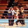「ボクシングの試合の…