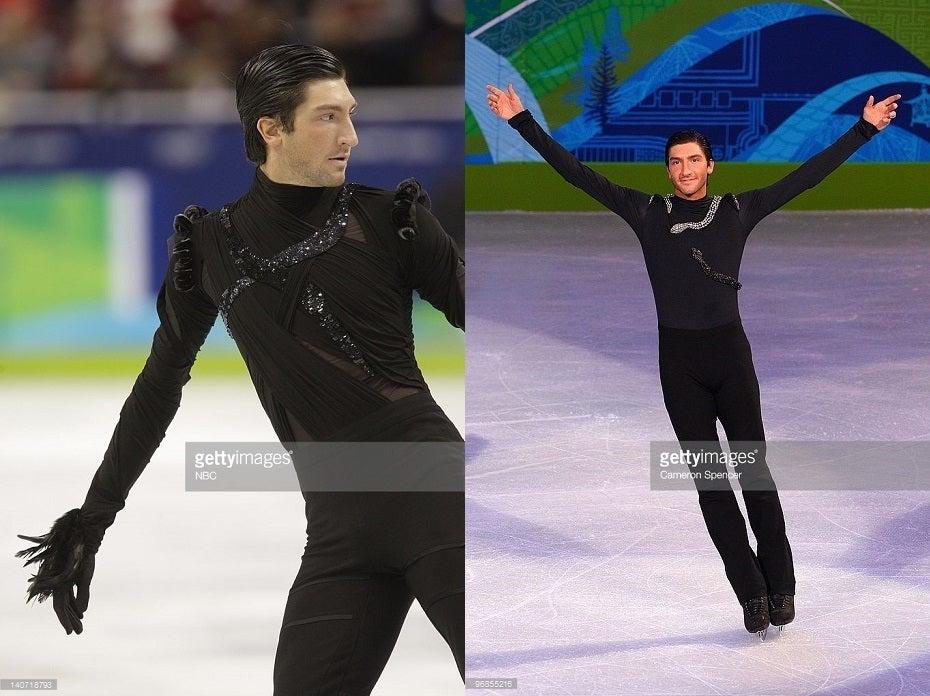 ライサチェク選手のバンクーバー・オリンピック衣装