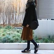 UNIQLO 3990円のPコートとスニーカーでお買い物コーデ^ ^