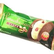 【ファミマ】まろやかで贅沢な味わい☆パンケーキサンド ピスタチオ