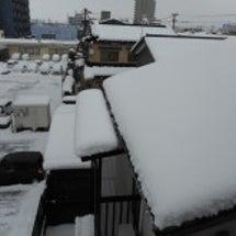 雪国は一日にしてなる…