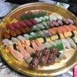 お寿司でバースデー
