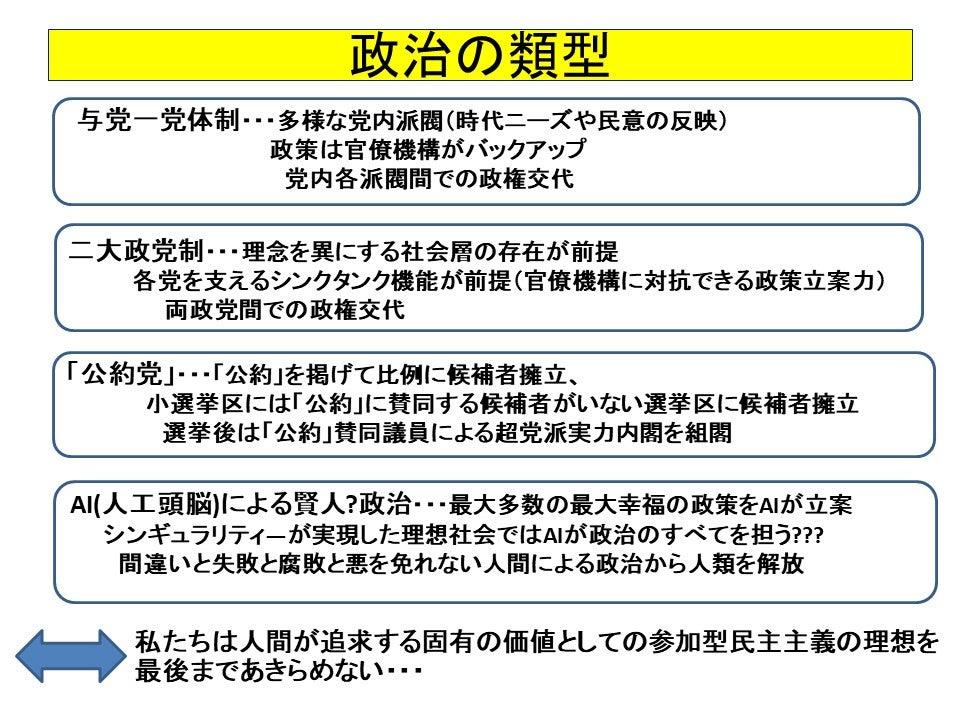 松田学オフィシャルブログ Powered by Ameba二大政党制か、AIがすべてを決める賢人政治か~政治参加は人間固有の価値~松田まなぶの論考