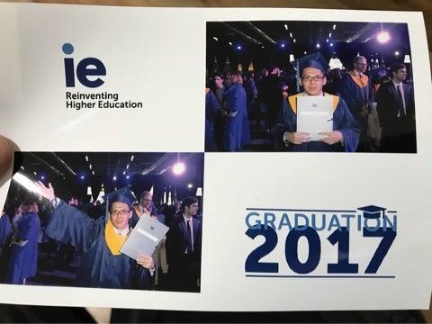 IEビジネススクールを卒業しまし...