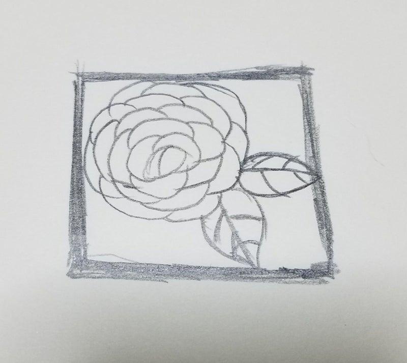 基本的な簡単な切り絵の作り方 Juriの切り絵