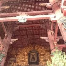 奈良 東大寺大仏殿に