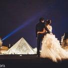 パリの凱旋門と蒼い空の記事より