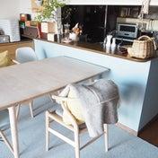 リビングの雰囲気をチェンジ!キッチンカウンターのペイントDIYレポ
