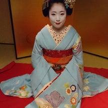 12月16日京舞観賞…